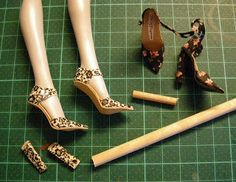 Fashion Doll Shoes << Blog devoted to making doll shoes