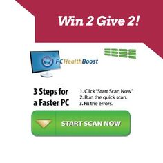 #Missiongiveaway Win #PCSpeedBoost- get 2, give 2, ends 8/29 US only