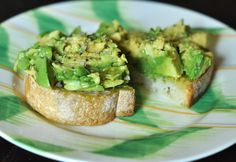 Avocado Toast Yum! Why didn't I think of that?!