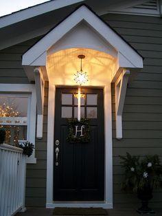 Portico - side door?