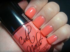 cult nails scandalous :: to-die-for coral jelly #JoinTheCult #CultNails