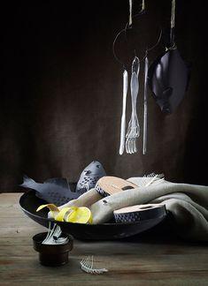 still-life paper food by fideli sundqvist