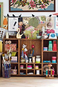 My space: Lise Meunier via Mollie Makes
