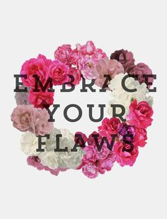 A pretty way to remember to embrace all of you!