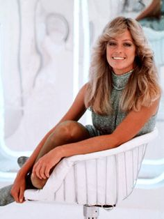 The 1970s were known for voluminous hair, and no one popularized the long-layered shag more than Farrah Fawcett. The