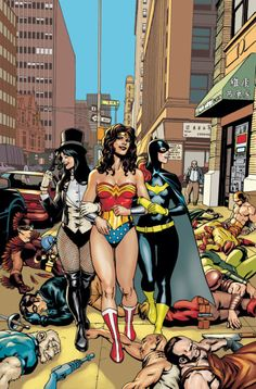 Zatanna, Wonder Woman and Batgirl
