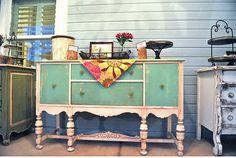restored vintage furniture
