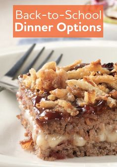This delicious BBQ Bacon Meatloaf is so easy to prepare so it's the perfect Back-to-School dinner..