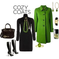 """Peridot Coat!"" by seidsonstephens on Polyvore"