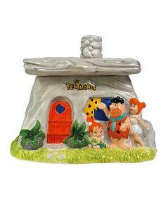 Flintstones Family House Cookie Jar