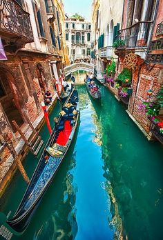 Canal Colors, Venice Italy