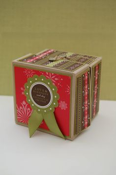CRAFTY RED: Stampin' Up! Christmas box