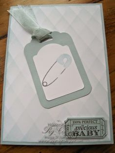 Baby Boy Card Something For Baby - Stampin' Up!