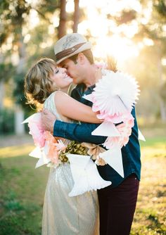 lovely bridal gold party dress | photo by Annie McElwain | 100 Layer Cake