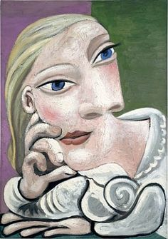 Marie Therese.  Picasso.