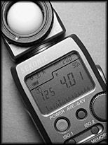 How to use the Sekonic L 358 exposure meter