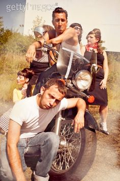 """The original movement for the youthful to express their need for freedom came from the 50's movie """"The Wild One"""", which inspired many young adults to rebel against any authority that'd try and stop them from being free."""