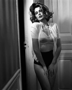 Laetitia Casta | Photography by Vincent Peters | For Elle France | January 2008