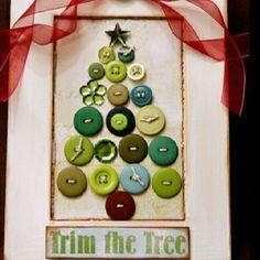 blue velvet, christmas cards, button art, holiday cards, christma tree, christmas shirts, christmas art projects, christmas trees, the holiday