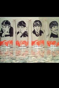 An original set of Nems Beatles glasses-- swoooooon!