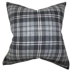 this plaid pillow wo