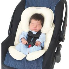 Preemie head and body positioner for car seats.
