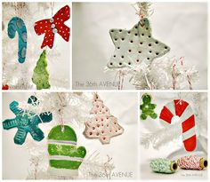 Family Activity: Make Clay Ornaments with the Little Ones!