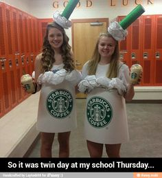 High School Twin Day Ideas high school twin day outfits