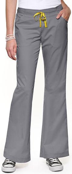 Scrubs - Wonderwink Mink Flare Leg Fashion Scrub Pant | Lydias Scrubs and Nursing Uniforms