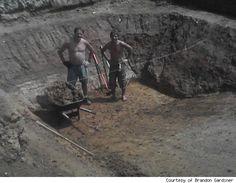 DIY Pool: How Brandon Gardiner and His Dad Built Their Own Backyard Oasis   AOL Real Estate