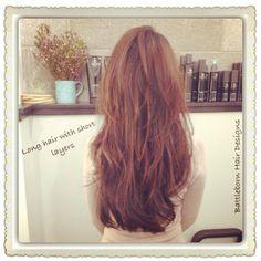 Gorgeous long hair with short layers. Cut by Battleborn Hair Designs. Bbhairdesigns.com