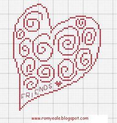 Romy's Cross Stitch Patterns: friendship