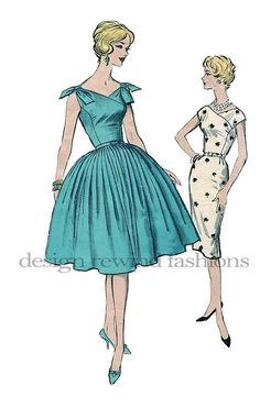 1960s Cocktail Party or Day Office Sheath by DesignRewindFashions, $55.00