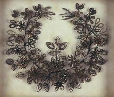 books, victorian hair art, family trees, vintage hair, flower art, victorian mourn, flowers, families, blog