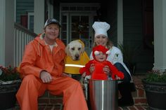 Lobster Family Costume