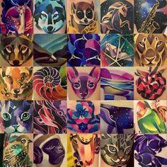 Beautiful tattoos by Sasha Unisex, tattoo artist based out of St. Petersburg, Russia