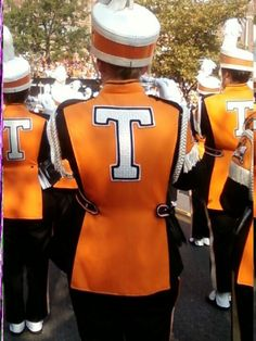 It wouldn't be Tennessee football without the band.