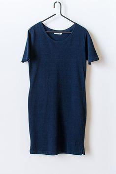 Taylor Stitch Margo Sea Washed Indigo Pique Dress