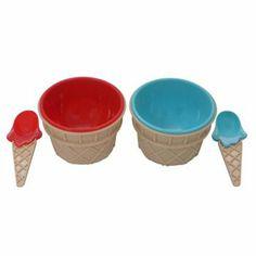 Jumping Beans 4-pc. Ice Cream Set. I still have mine!