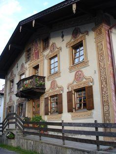 house downtown Garmisch