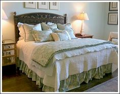 unique headboard ideas - French Country