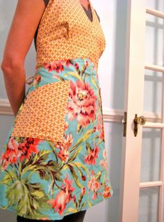 I love aprons. I don't really wear them, I just kind of collect them! I have more aprons than I will EVER need.