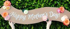 I am in love with this tutorial in time for mothers day!
