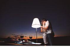 lamp & dinner for two