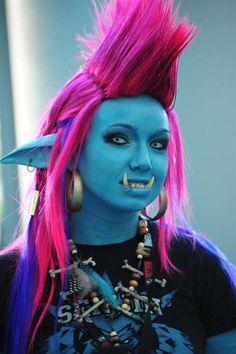 Epic World of Warcraft Troll Cosplay. Trollhawk FTW