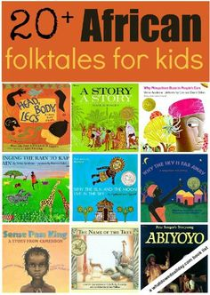 African folktales for kids - picture books