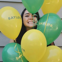 Baylor balloons! Yes
