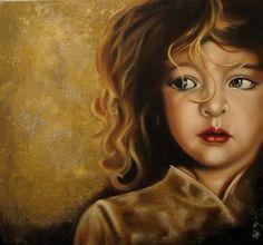 "Saatchi Online Artist: Alikhan Alikhanov; Oil 2012 Painting ""The little prince"""