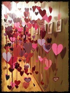 DIY #Valentines day decorating