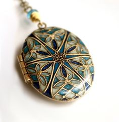 Wedding Jewelry Bridal Jewelry Something Blue by MStevensonDesigns   Gorgeous necklace